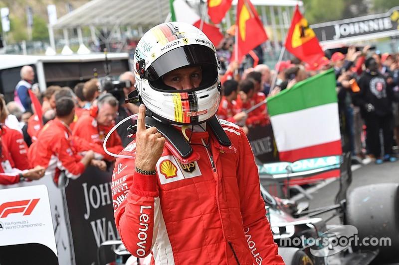 Klasemen F1 2018 setelah GP Belgia