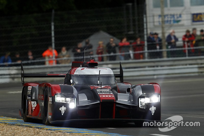 Le Mans 24 Hours: Audi leads red-flagged warm-up