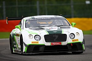 Blancpain Endurance Preview Bentley returns to Spa 24 Hours with four Continental GT3s