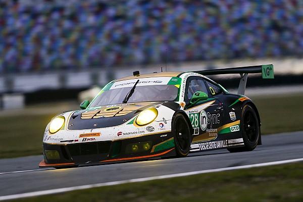 IMSA Alegra Porsche takes upset win: