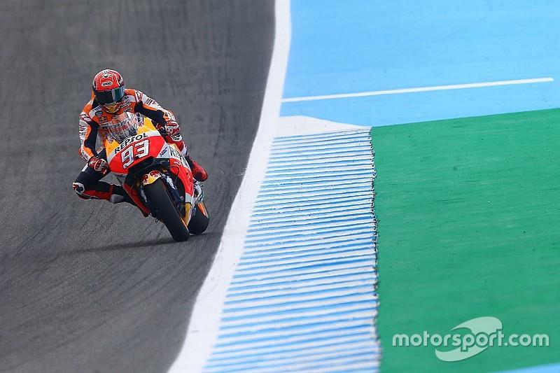 Les freinages et la vitesse en virage, les atouts de Honda pour Márquez
