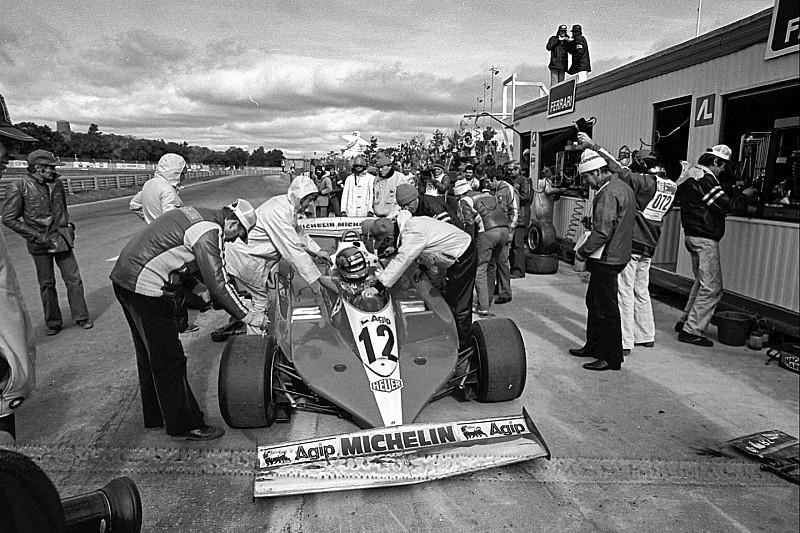 GALERÍA: el Ferrari 312T3 de Gilles Villeneuve en el GP de Canadá
