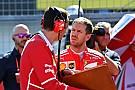 Vettel drámája, vigasztalása és köszönete