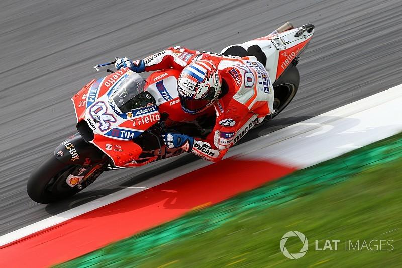 Austria MotoGP: Dovizioso beats Marquez in warm-up