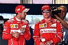 Vettel & Räikkönen: