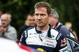 WRC Новость Ожье разбил машину на тестах WRC