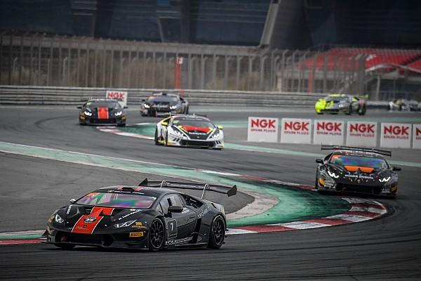 سباقات الحلبات تقرير السباق جيفريز وبروكرز يفوزان بلقب لامبورغيني سوبر تروفيو في دبي أوتودروم