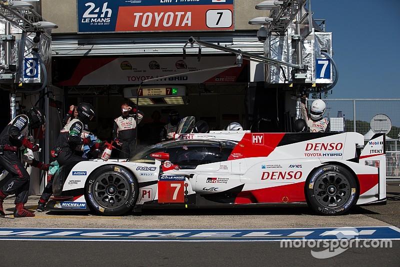 Confusão nos boxes provocou quebra da Toyota em Le Mans