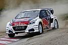 World Rallycross Une manche pour Hansen mais Solberg reste en tête
