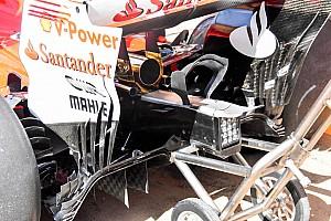 Forma-1 Elemzés Meghosszabbított alkatrész a Ferrarin, a Mercedes mintájára