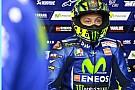 Latihan enduro, Valentino Rossi cedera patah kaki