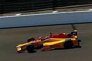 IndyCar Breaking news Hunter-Reay's Indy 500 bid goes up in smoke