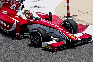 FIA F2 Отчет о гонке Леклер выиграл спринт в Бахрейне благодаря рисковой тактике