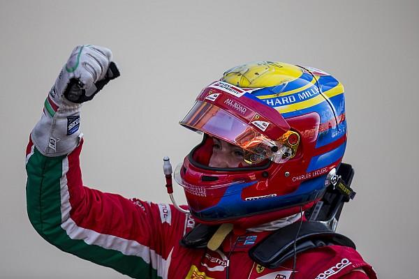 FIA F2 Artículo especial La columna de Leclerc: El cambio a Sauber cierra el año con nuevo reto