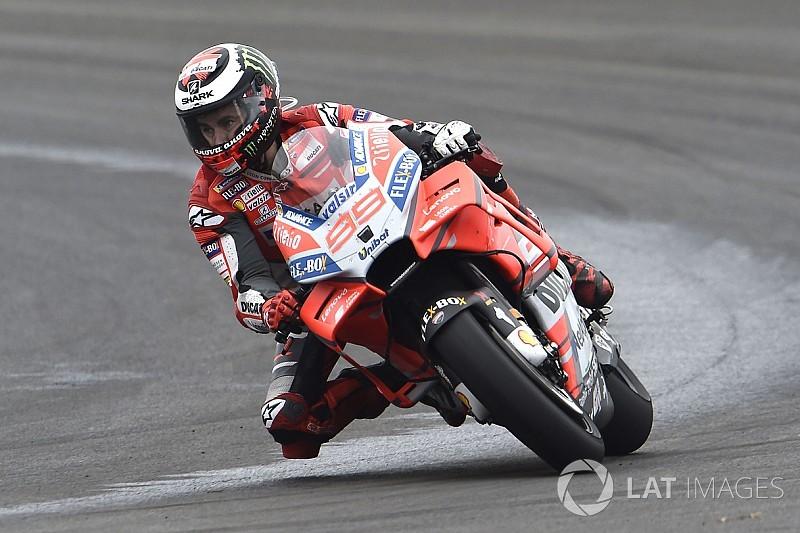 "Lorenzo ""doing better than last year"" despite poor start"