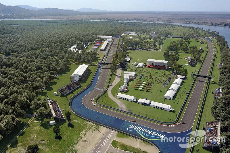 Artwork of Rockhampton Supercars track revealed