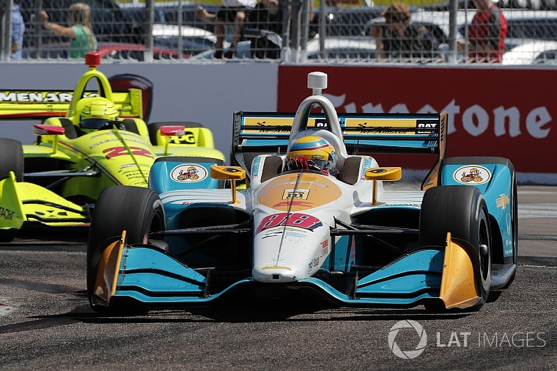 Racing encouraged by IndyCar street course debut
