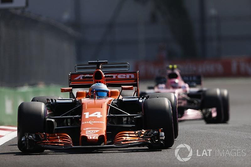 "Force India: McLaren en Renault een ""flinke bedreiging"""