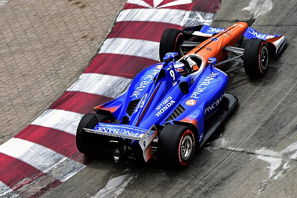IndyCar Practice report Toronto IndyCar: Dixon leads warm-up, King shunts