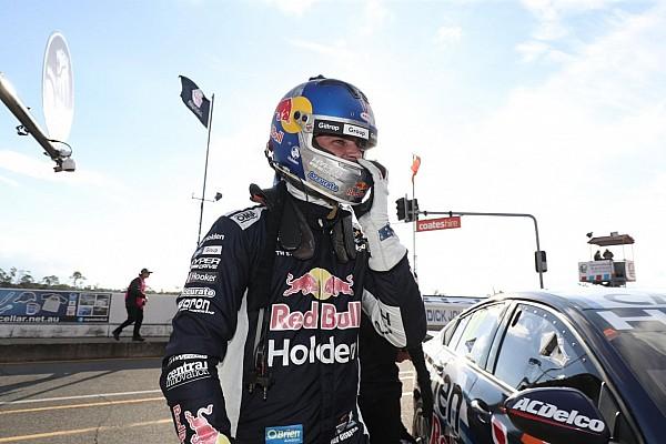Supercars Practice report Ipswich Supercars: Van Gisbergen leads frantic second practice