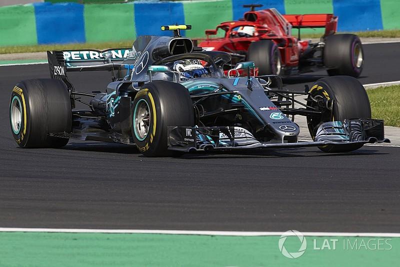 Mercedes admite que pidió a Bottas una estrategia demasiado valiente
