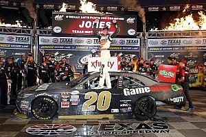 NASCAR XFINITY Race report Erik Jones completes Texas sweep in NASCAR Xfinity Series