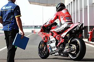 Lorenzo: Latest Ducati chassis