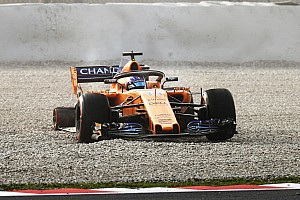 Fórmula 1 Noticias Alonso sufre su primer contratiempo con el McLaren-Renault