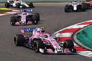 """F1 速報ニュース フォースインディア「""""スタート大失敗""""が、入賞の可能性を奪った」"""