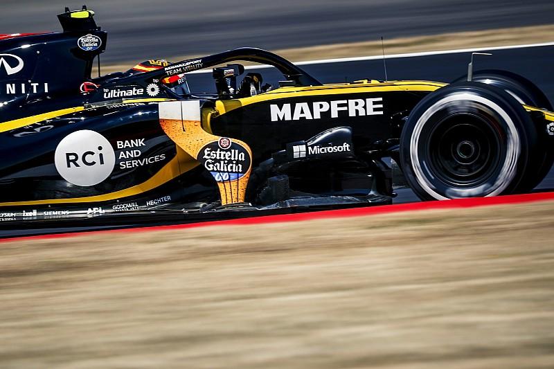 Sainz, decepcionado con la estrategia de Renault en Gran Bretaña