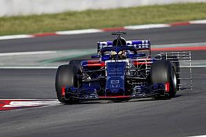 F1 テストレポート テスト2日目午前:ボッタスがトップ、トロロッソのゲラエルは83周走行
