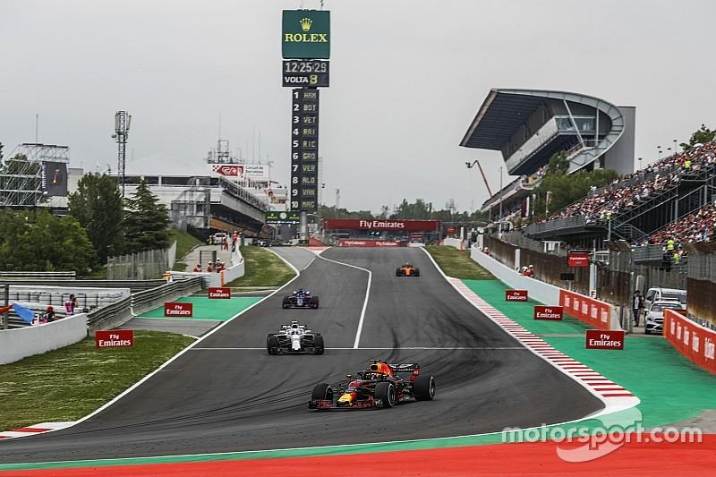 Formel 1 Barcelona 2018: Die Startaufstellung in Bildern