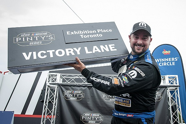 NASCAR Canada Race report Andrew Ranger makes the most of overtime to capture win at Toronto