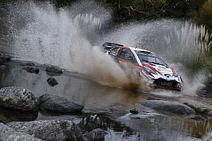 WRC Resumen de la etapa Tanak se estrena con Toyota en Argentina y Sordo es tercero