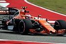 Formula 1 Vandoorne: Meksika'da motor cezası almayacağımızın garantisi yok