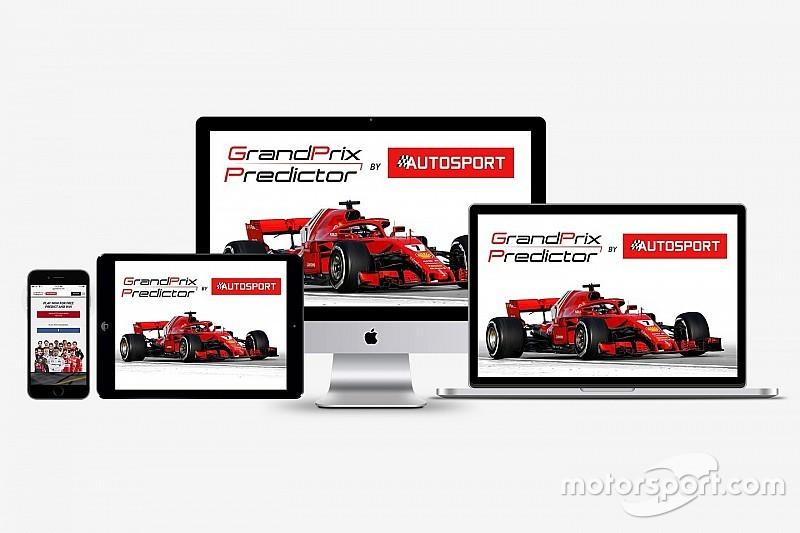 Anzeige: Autosport Grand Prix Predictor 2018: Das F1-Tippspiel ist zurück!