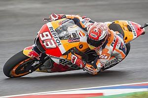MotoGP Prove libere Termas, Libere 3: Marquez vola anche sul bagnato, le Ducati fuori dalla Q2