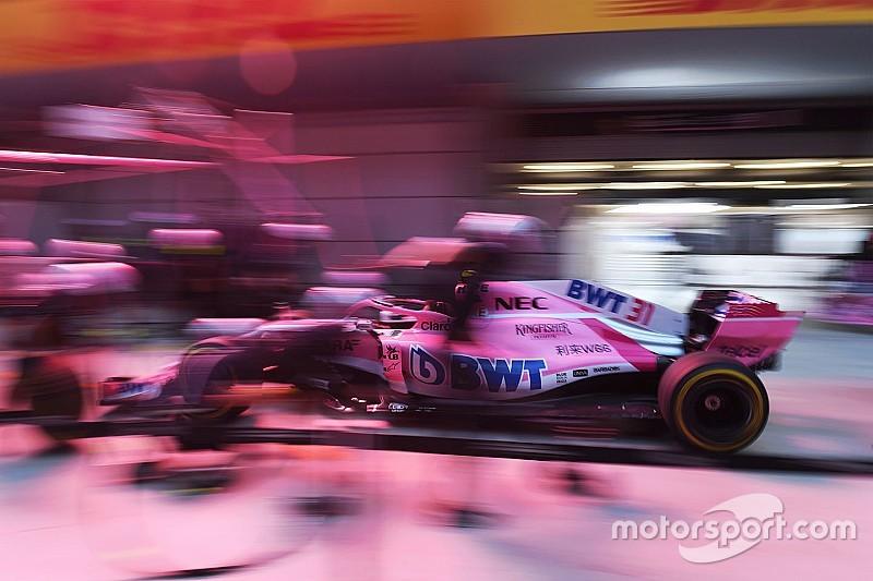 GALERÍA: Force India, su temporada 2018 en fotos