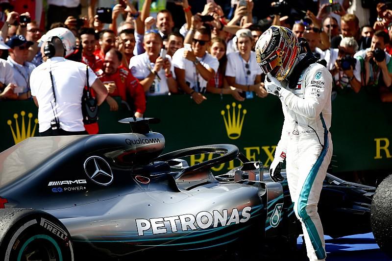 Hamilton culpa a Raikkonen de sus problemas en Silverstone
