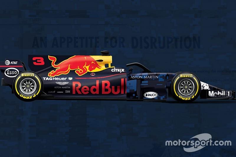 Comparativa entre el Red Bull 2018 vs 2017