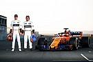 Vandoorne over McLaren MCL33: