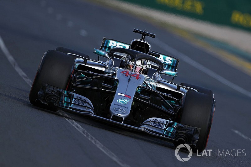 """Hamilton: Rivals catching Mercedes """"exciting"""""""