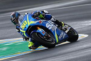MotoGP Réactions Une approche prudente pour Guintoli dans des conditions difficiles