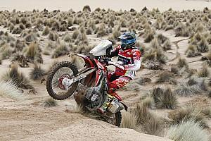 Dakar Breaking news Honda appeals one-hour Dakar refuelling penalties