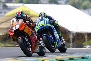 MotoGP Réactions Malgré un top 10, Iannone peine à dissimuler sa déception
