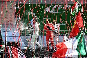 Formule 1 Contenu spécial L'histoire derrière la photo : fête et cotillons à Monza