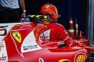 Battu par Vettel, Räikkönen économise ses mots