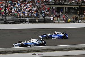 IndyCar Réactions Chilton est passé à six tours de la victoire à Indy