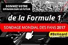 Formule 1 Motorsport Network lance le deuxième Sondage Mondial des Fans de Formule 1