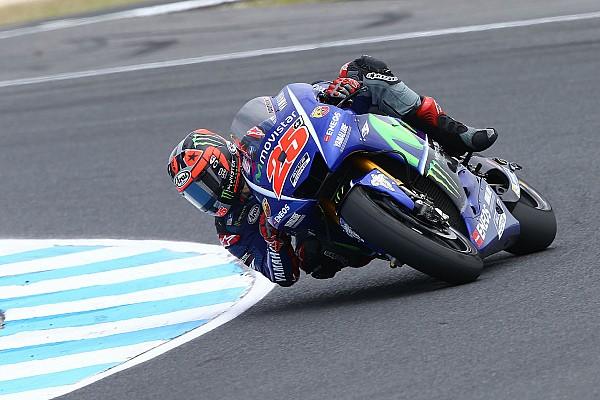 MotoGP Vinales stuns field to go fastest at Phillip Island